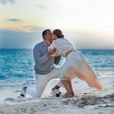 Jennifer López comparte el momento de la pedida de mano y morimos de amor