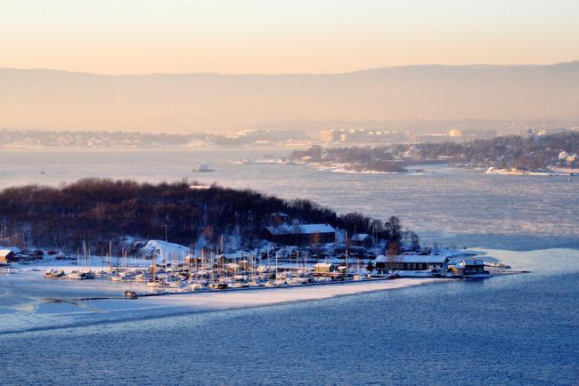 Crucero fiordo Oslo Hovedoya