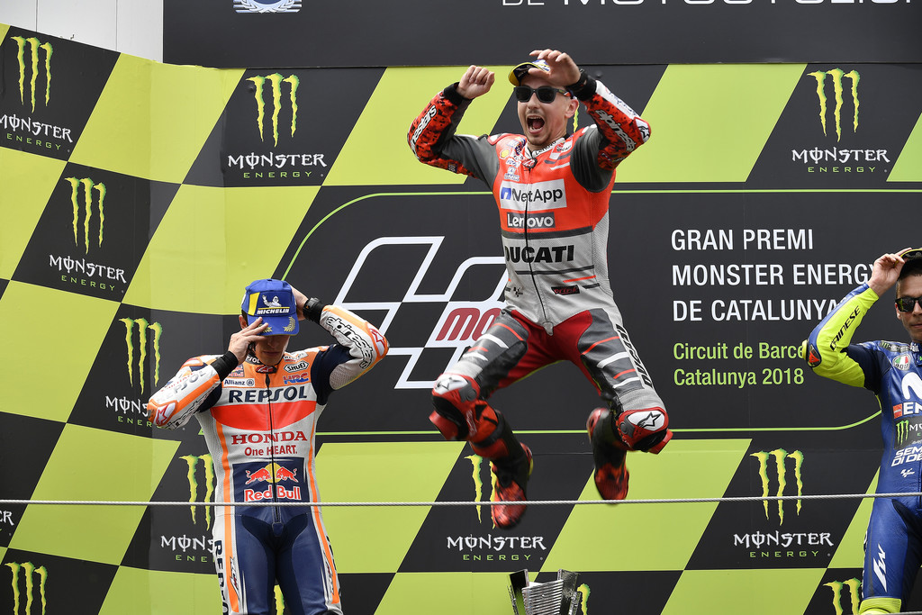 Jorge Lorenzo Motogp Catalunya 2018 4