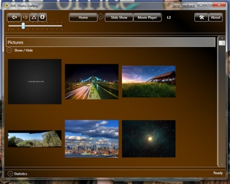 JMC Photo Gallery, interesante alternativa para organizar fotos y vídeos en Windows