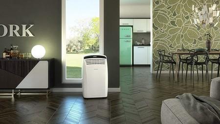 Este aire acondicionado de 2.500 frigorías Olimpia no necesita instalación y hoy tiene más de 100 euros de descuento en Amazon