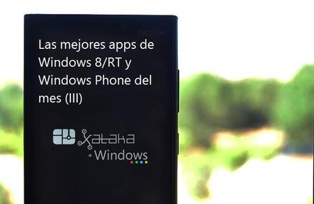 Las mejores apps de Windows 8/RT y Windows Phone del mes (III)