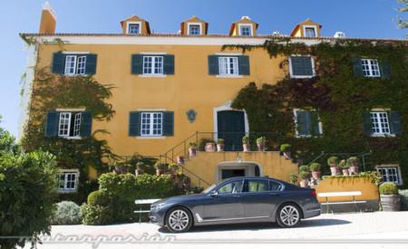 BMW Serie 7 prueba