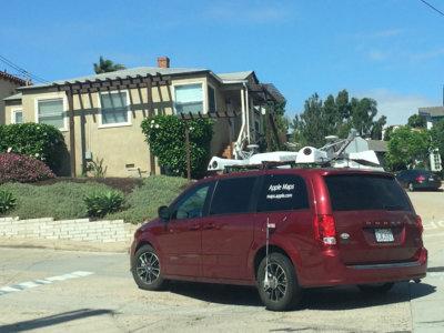 Los coches de Apple Maps seguirán capturando imágenes este 2016