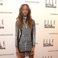 Jourdan Dunn Tom Ford Primavera/Verano 2014 Elle Style Awards 2014 red carpet