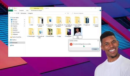 """Por qué tras más de 40 años no puedes poner el nombre """"con"""" a un archivo en Windows 10"""