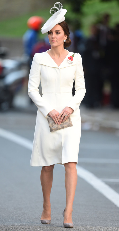 Kate Middleton Vestido Mcqueen A