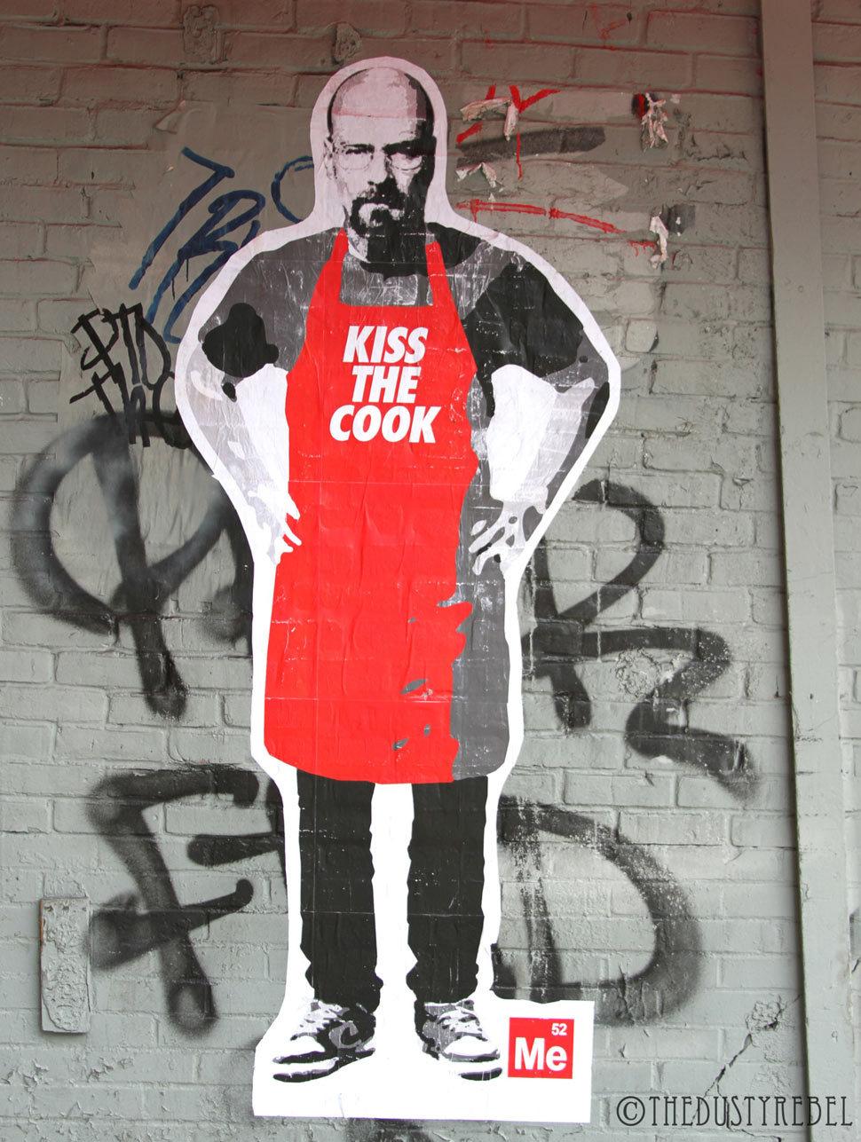 Foto de Arte callejero de 'Breaking Bad' (1/2)
