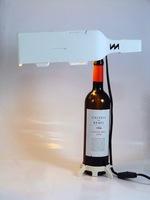 Re-wine, botellero y lámparas de doble uso