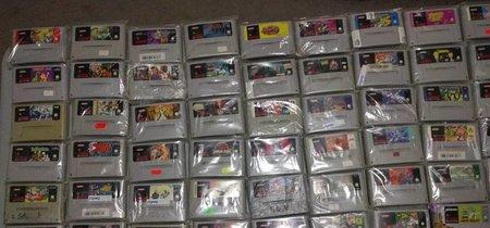 Un servicio de mensajería recupera un paquete de cien juegos de SNES valorado en miles de dólares