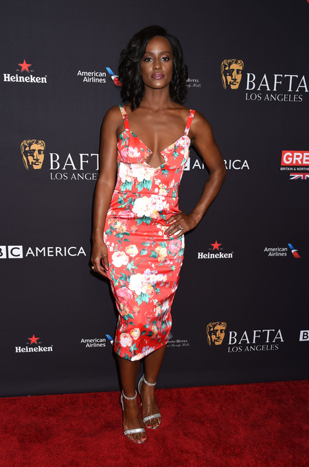 tea party bafta alfombra roja Skye P. Marshall