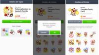 Ya no se pueden comprar stickers de LINE para regalar en iOS