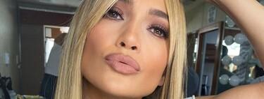 Cuatro formas de peinar el flequillo cortina abierto que Jennifer Lopez ha demostrado que funcionan