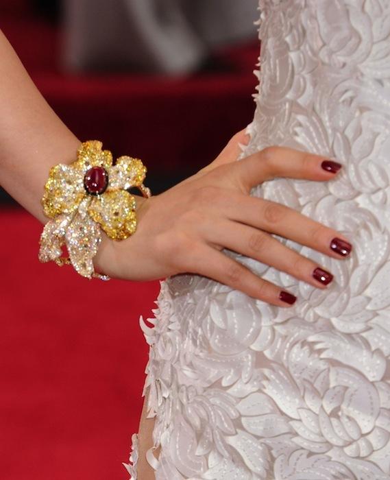 Li Bingbing joya Oscar 2012
