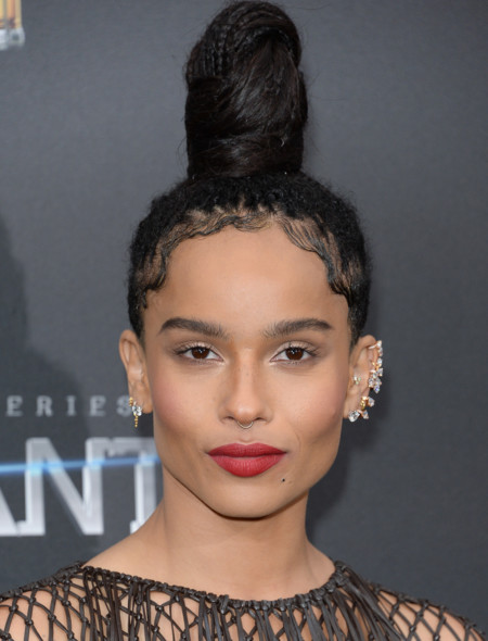 Zoe Kravitz, la nueva musa rock de Yves Saint Laurent Beauty