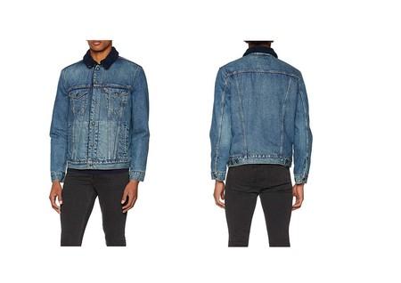 La chaqueta vaquera para hombre Levi's Type 3 Sherpa Trucker está por 65 euros en Amazon