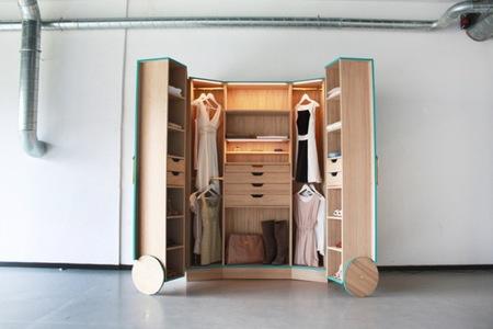 como hacer un closet en una habitacion 2