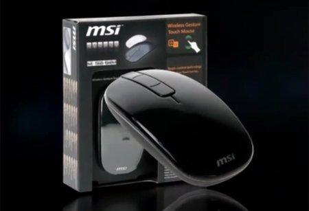 MSI iTouch, otro ratón al que le gustan los gestos