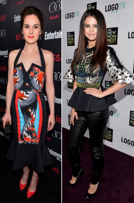 Michelle Dockery Selena Gomez Peter Pilotto