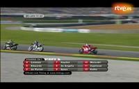 Por fin en 2010 las carreras de motos en televisión sin cortes publicitarios
