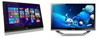 MSI Adora24 y Samsung ATIV One 7, dos todo en uno con pantalla táctil