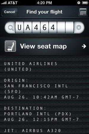 Información del vuelo UA 464 en Jets