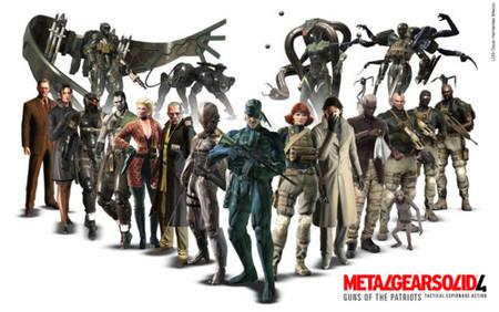 Mañana estará 'Metal Gear Solid 4' en las tiendas de nuestro país