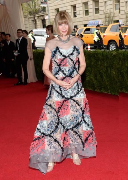 Anna Wintour de Chanel Gala MET 2014