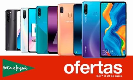 Ofertas En Smartphones En Las Rebajas De El Corte Inglés 21 Modelos De Samsung Xiaomi Huawei Oppo O Lg Con Descuentos De Hasta Un 38