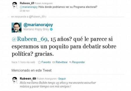 @marianorajoy y un equipo adolescente que trata a un joven de idiota (del griego idiotés)