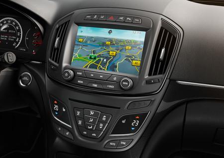 Opel Insignia, consola central