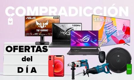 25 ofertas del día en Amazon: smart TVs Samsung y LG, portátiles gaming ASUS, smartphones Apple y Realme o herramientas Bosch a precios rebajados