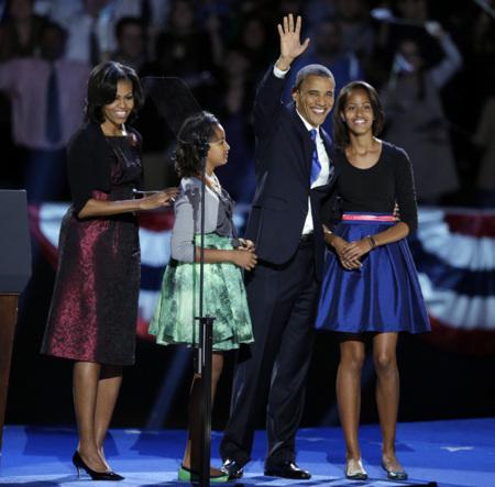 Michelle Obama familia