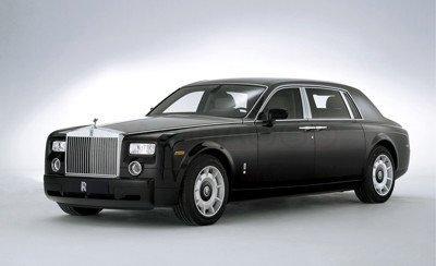 Nuevo sedán de Rolls-Royce