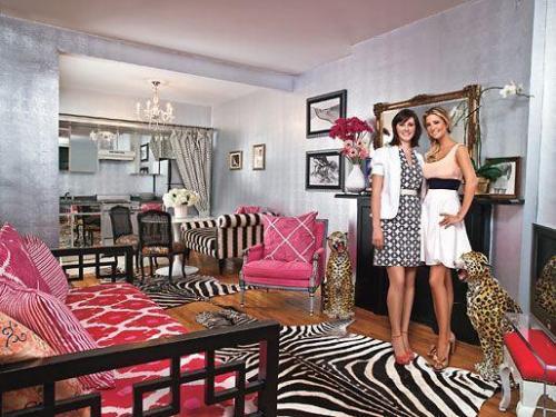 Casas de famosos alfombras de pieles de animales - Alfombras de cebra ...