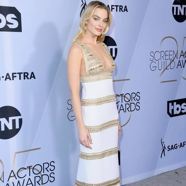 Margot Robbie demuestra en los SAG Awards 2019 que su estilo es implacable (e impecable)
