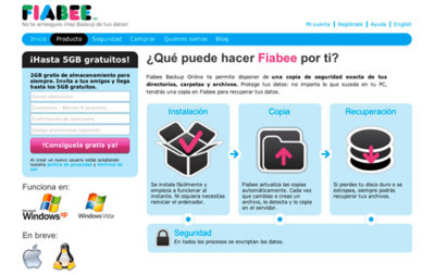 Fiabee, el Dropbox español con espacio ilimitado
