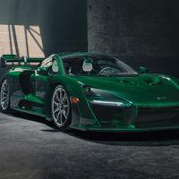 Así de espectacular es el primer McLaren Senna entregado en Norteamérica: en fibra de carbono verde