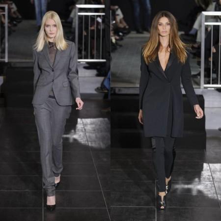 Tendencia Mujeres Traje Milan Fashion Week 2016 3