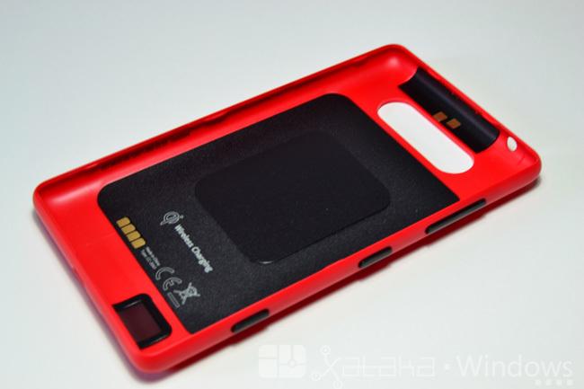 Carcasa del Lumia 820