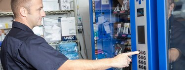 Peripheral vending machines for workers: in Salesforce or Facebook a keyboard is obtained in the same way as a snack