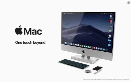 Así sería el cruce entre un iMac y un Surface Studio según este concepto (que jamás se hará realidad)
