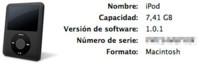 Actualización de software: iPod nano (3G) e iPod classic 1.0.1
