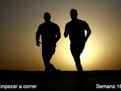 Entrenamiento para empezar a correr: semana 16