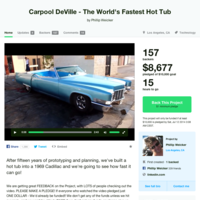 Carpool DeVille, el híbrido entre coche y jacuzzi