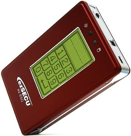 IOTEK ezSECU ez850, disco duro protegido por PIN