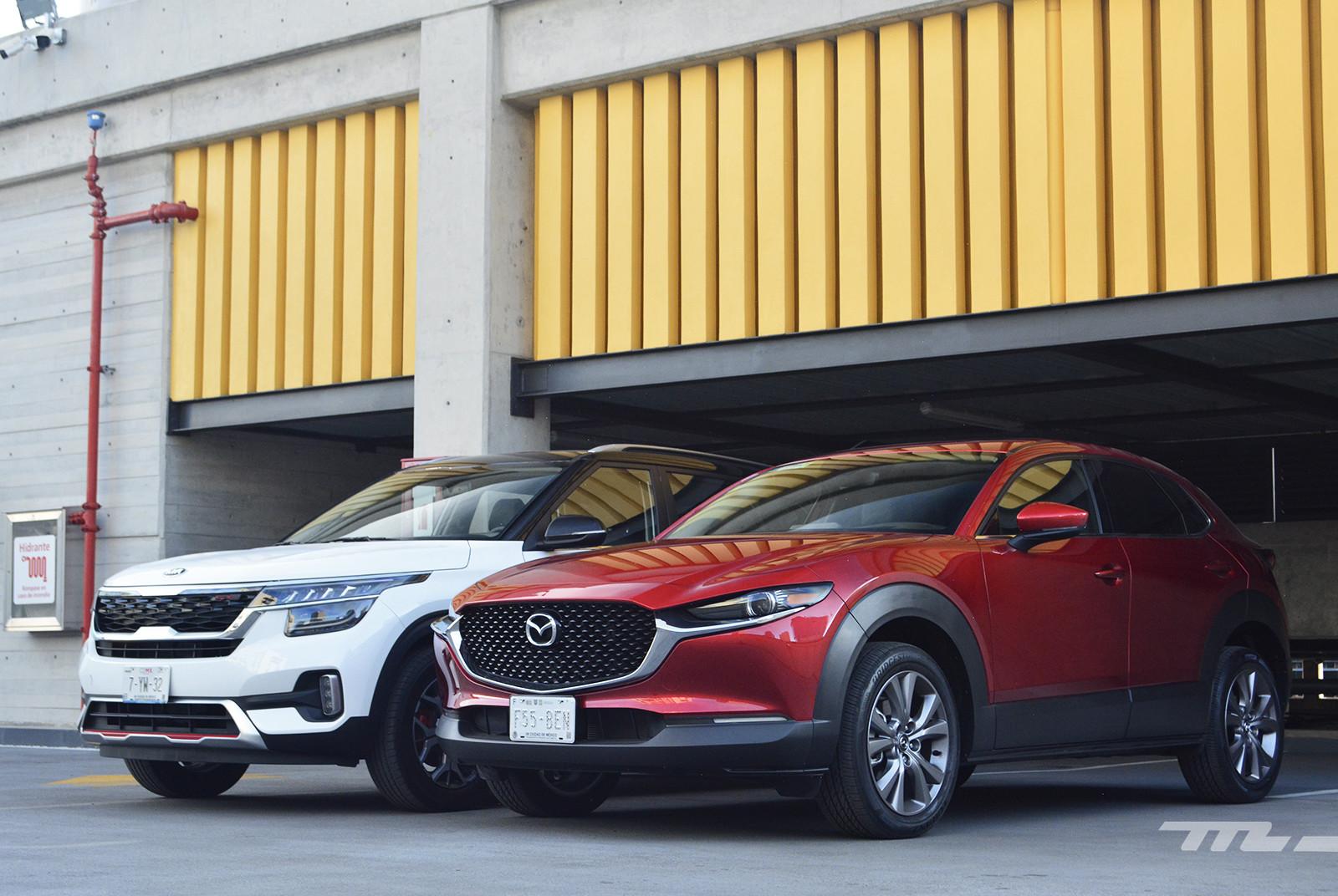 Foto de KIA Seltos vs. Mazda CX-30 (comparativa) (4/32)