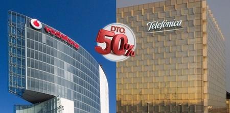 Movistar y Vodafone recrudecen su guerra, ampliando unos descuentos que incluso se vuelven indefinidos