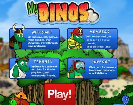 MyDinos, una red social virtual para los niños
