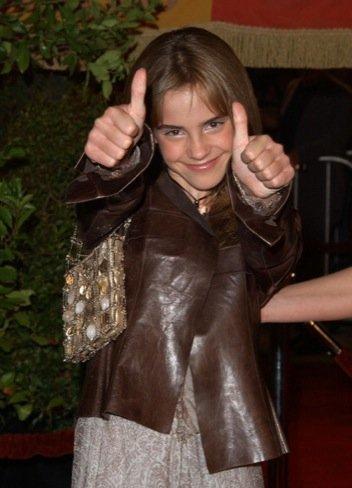 Emma Watson joven